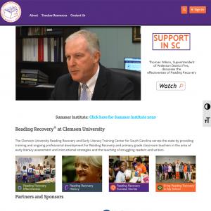 Clemson University Reading Recovery